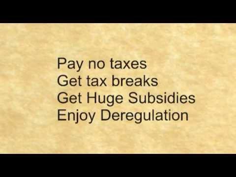 Corporate Welfare 2011 - Standard Definition