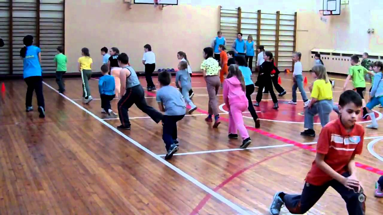 Kids Athletics 2011 warm up - YouTube