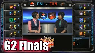 Ex Nihilo vs Denial eSports EU | Game 2 Grand Finals S5 EU CS Summer 2015 Qualifiers | EXN vs DNL G2