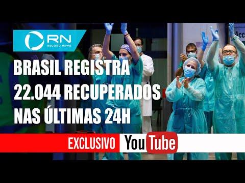 Coronavírus: Brasil ultrapassa 1,5 milhão de curados