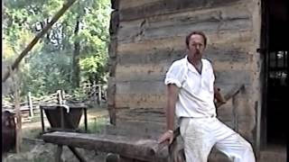 Abraham Lincoln farm in Indiana -historic sight walking tour-Old VHS video-