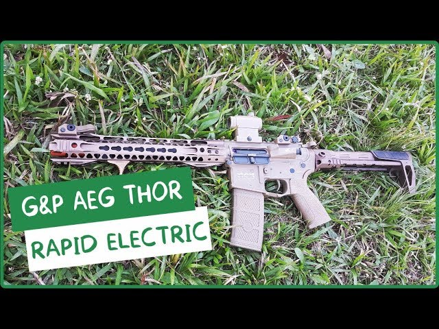 RIFLE  G&P AEG THOR RAPID ELECTRIC - AIRSOFTS