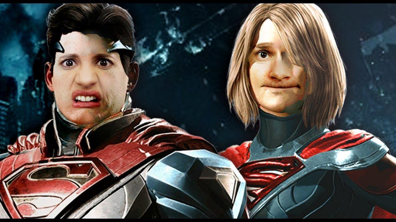 Supergirl VS Superman. - YouTube