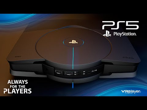 PS5 PlayStation 5 - Concept Design Trailer V2 - Welcome to the future of Gaming - VR4Player