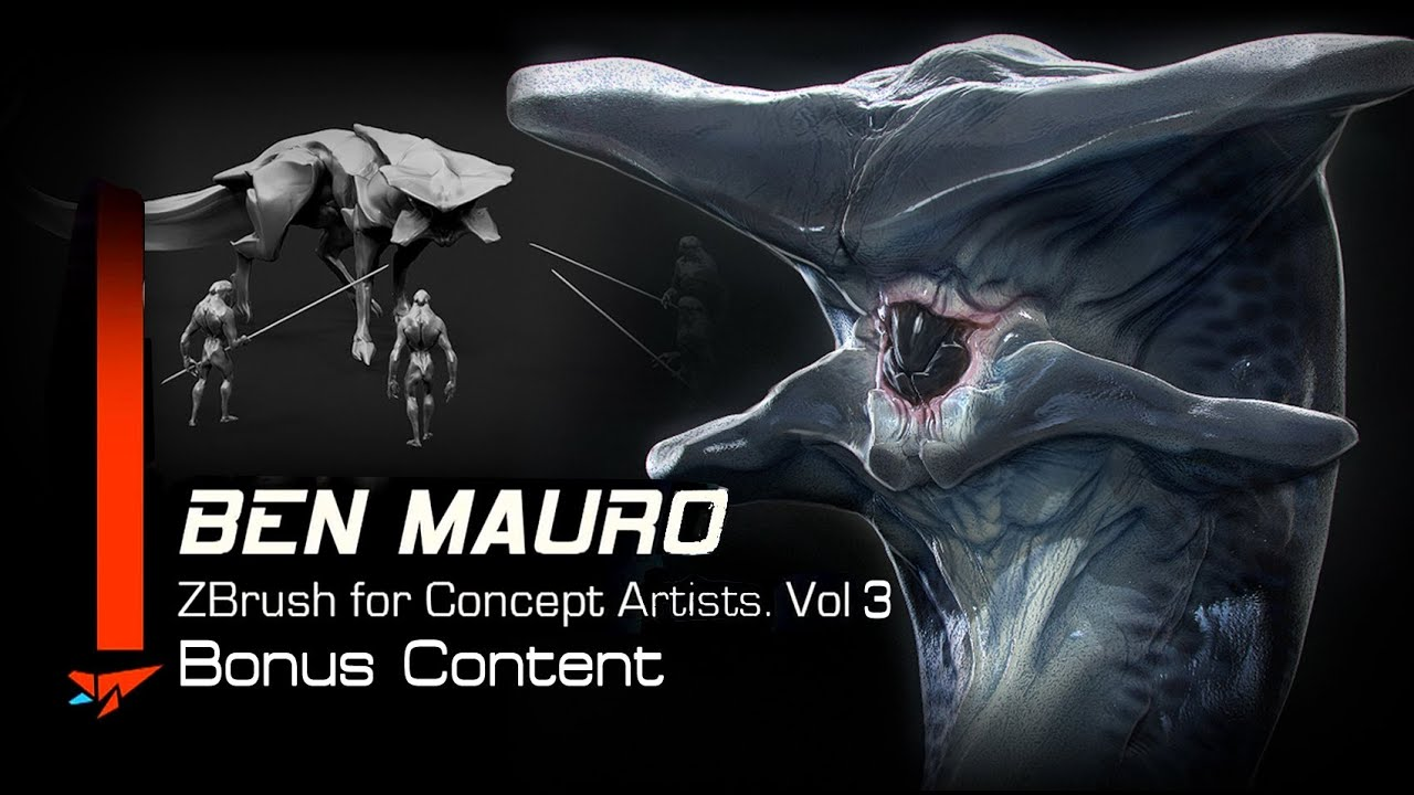 Ben Mauro - ZBrush for Concept Artists Vol 3 FREE CONTENT