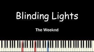 The Weeknd - Blinding Lights(Piano Cover, 피아노 커버)