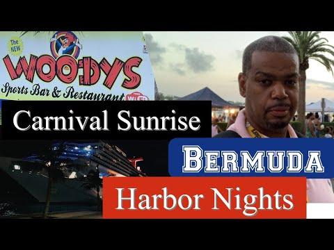 Harbor Nights Hamilton Bermuda-Carnival Sunrise