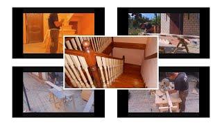 Как сделать лестницу 1740х2800х2860  часть1.