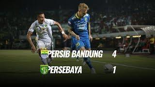 [Pekan 23] Cuplikan Pertandingan Persib Bandung vs Persebaya, 18 Oktober 2019