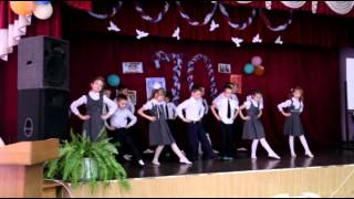 """Танец """"Ступеньки"""", 1 """"в"""" класс СОШ №60 г.Брянска"""