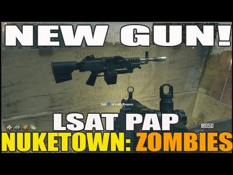 Nuketown Zombies: New Gun! LSAT Pack A Punched (FSIRT)