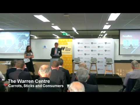 Carrots, Sticks and Consumers: The Future of Energy - The Warren Centre