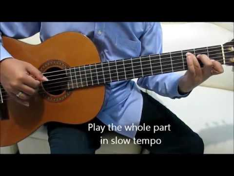 Air Supply Goodbye Guitar Tutorial Fingerstyle No Capo ( Intro ) - Guitar Lessons for Beginners