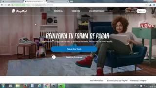 Como Crear una Cuenta en PayPal GRATIS PASO a PASO Sin Tarjeta de Crédito o Con Tarjeta Débito facil