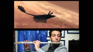 How to train your dragon - Romantic Flight (Flute Cover)