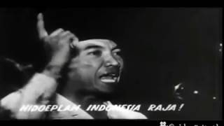Video Lagu Indonesia Raya dalam film propaganda Jepang, 1944. download MP3, 3GP, MP4, WEBM, AVI, FLV Juni 2018