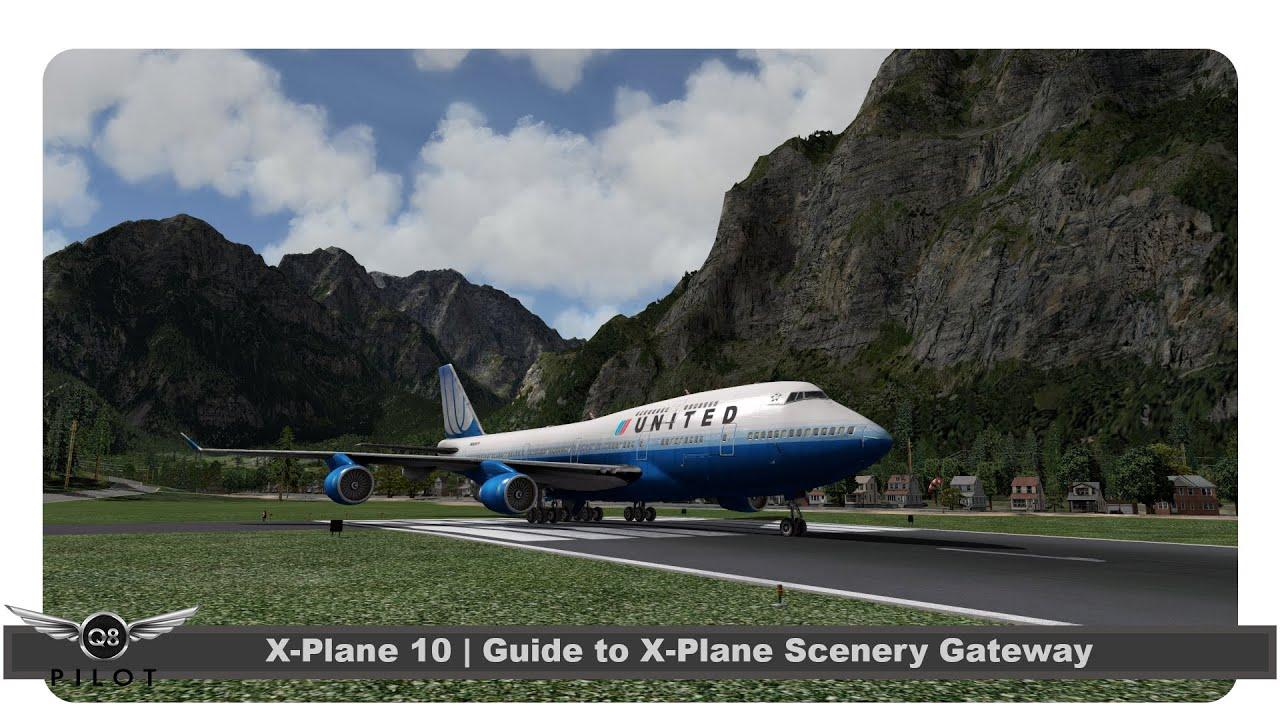 the x plane scenery gateway quality freeware scenery for x plane flightsim planet. Black Bedroom Furniture Sets. Home Design Ideas