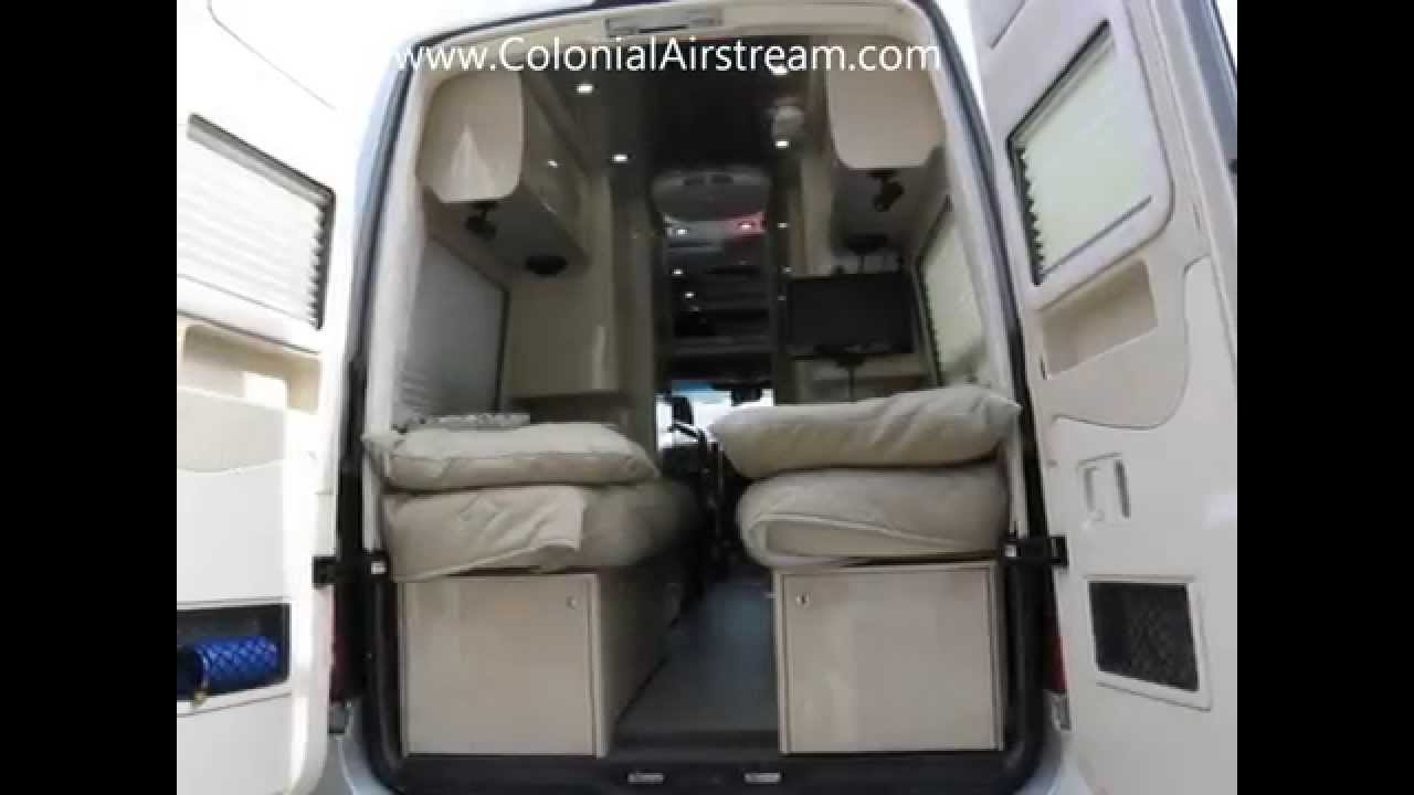 Used Mercedes Benz Sprinter RV Van Conversion For Sale Custom Made By Airstream Motorhomes