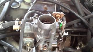 Renault 18 dos litros carburador de una garganta