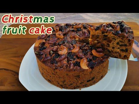 ฟรุตเค้กเนื้อฉ่ำ ๆ หอมเนย ไม่ใส่เหล้ารัม วิธีนี้ทำง่าย มือใหม่ก็ทำได้ Super Moist Fruit Cake Recipe