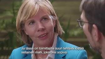 Tietoyhteiskunta-akatemiassa haastateltavana Anna-Maja Henriksson