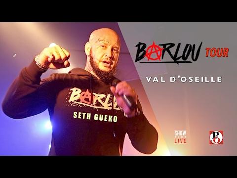 SETH GUEKO - Val D'oseille  - Clip Live à la Puce À l'Oreille - Barlou Tour 2017