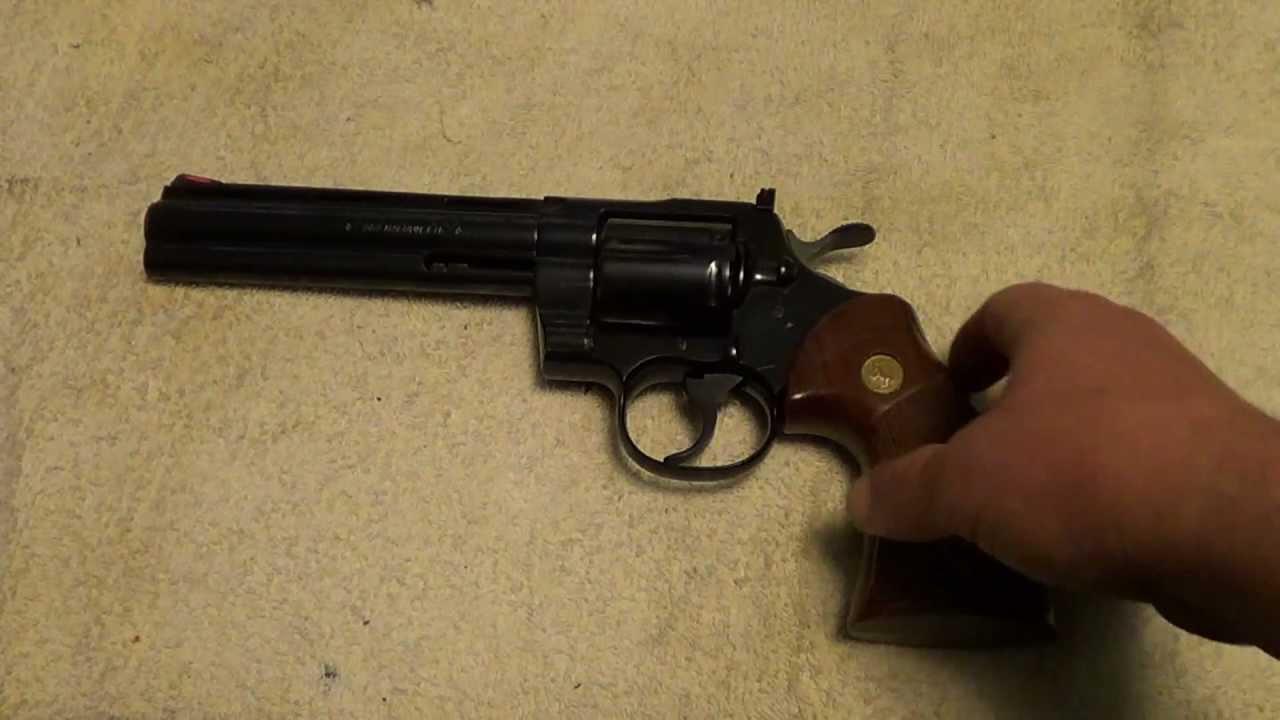Colt Python  357 Magnum 6 inch barrel