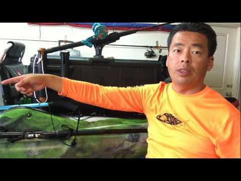 Predator pdl how I rigged my kayak on Maui