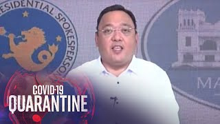 Presidential Spokesman Roque holds press briefing (3 August 2020)