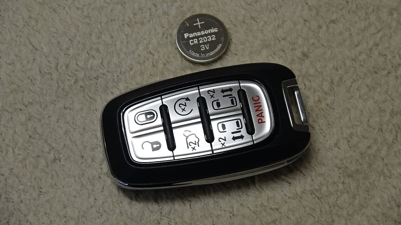 Chrysler Pacifica Amp Phev Hybrid Key Fob Battery