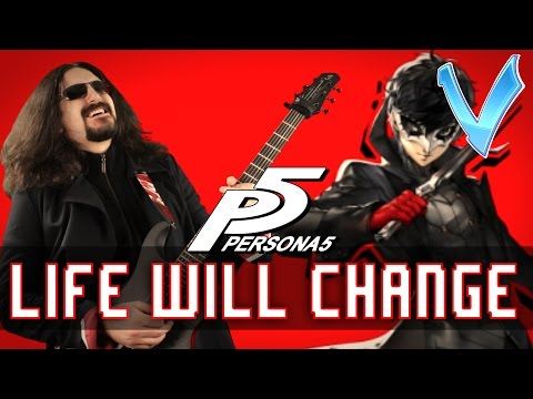 """Persona 5 - Life Will Change """"Epic Metal"""" Cover (Little V)"""