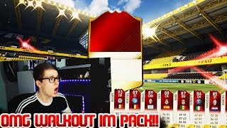FIFA 17: OMG BEAST WALKOUT IN PACK OPENING! 😱- ULTIMATE TEAM - FUT CHAMPIONS MONTHLY REWARDS