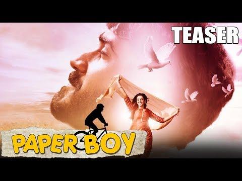 Paper Boy (2019) Official Hindi Dubbed Teaser | Santosh Sobhan, Riya Suman
