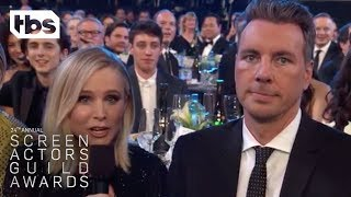 Kristen Bell , Dax Shepard & Greta Gerwig | 24th Annual SAG Awards | TBS