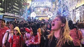 BUKIT BINTANG PAVILLION CHRISTMAS SHOPPING MALL   KUALA LUMPUR MALAYSIA