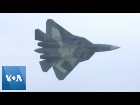 Russia Hosts International Air Show MAKS 2019