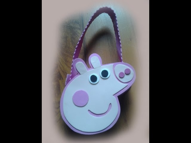 Bolso de Peppa Pig En Fomy Travel Video