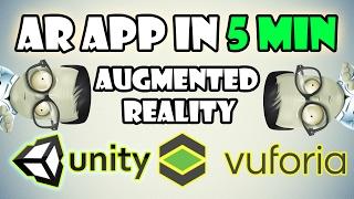 Eine AR-app in 5 Minuten mit Unity und Vuforia