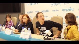 День вегана 2016. Пресс-конференция в Интерфаксе, Денис Михайлов