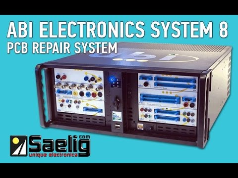 ABI Electronics System 8 PCB Repair & Diagnosis System From Saelig