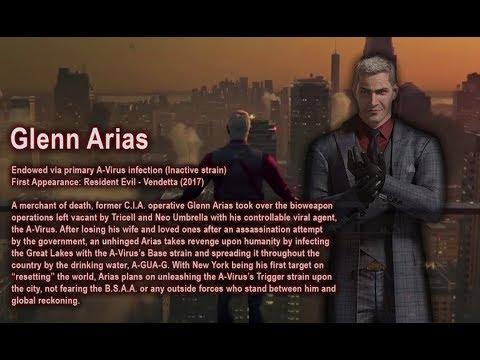 Battle Data - A-Virus (Resident Evil)