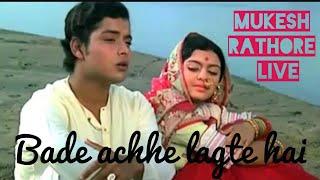 bade achhe lagte hai live (acoustic) | Mukesh Rathore ft. Pravin Kumthekar, Suchitra Vaidhyanathan