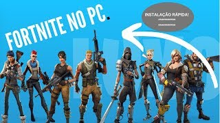 HOW TO DOWNLOAD AND INSTALL FORTNITE ON YOUR PC AT 2019! (BEST QUICK AND EASY METHOD)