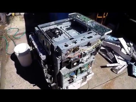Scrapping a Photocopier for Motors & Boards