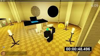 [1:12] Escape Artist 100% Speedrun // ROBLOX Escape Room