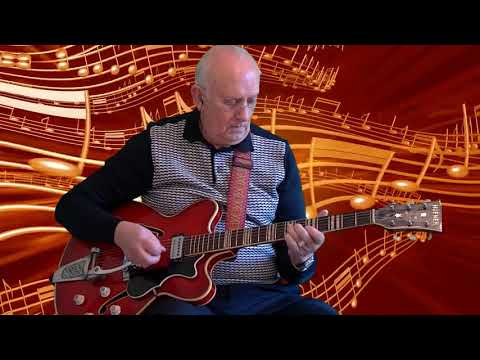 Rock and Roll Music - The Beatles - instrumental cover by Dave Monk