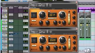 How to create a big drum room with plugins. Make your drums sound bigger and wider