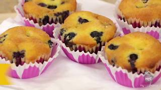 Quick Easy Blueberry Muffins Recipe From Scratch