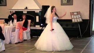 Любимому мужу песня на свадьбе,подарок мужу от жены,сюрприз