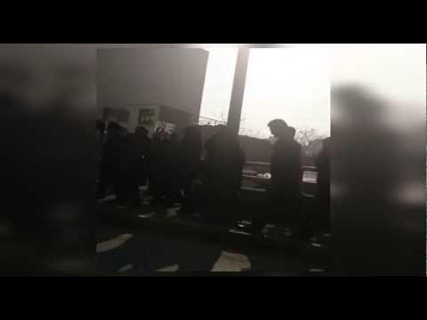 Video: Iran-Protesters in Iran demand release of prisoner of conscience